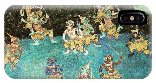Royal Palace Ramayana 16 IPhone Case