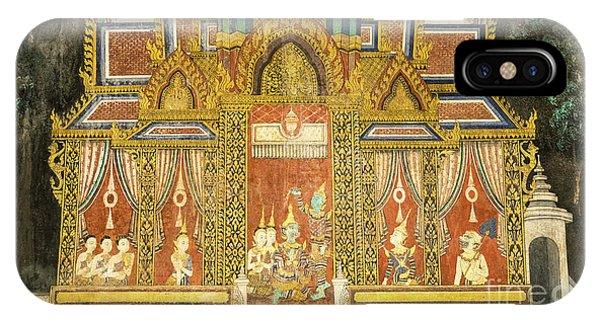 Royal Palace Ramayana 17 IPhone Case