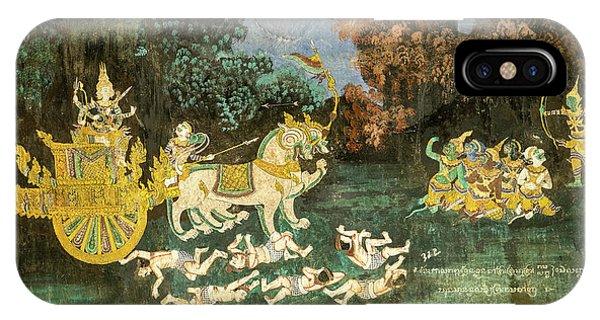 Royal Palace Ramayana 19 IPhone Case