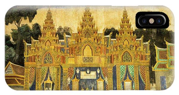 Royal Palace Ramayana 20 IPhone Case