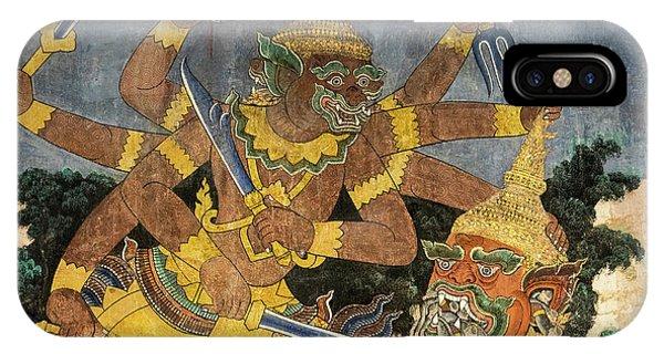 Royal Palace Ramayana 22 IPhone Case