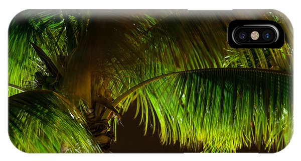 Royal Palm Night Out IPhone Case