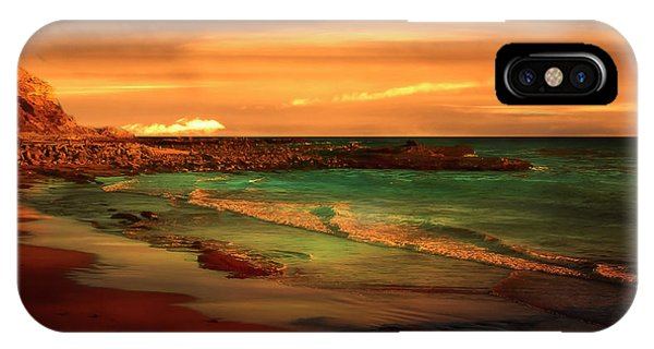 Royal Palms Beach At White Point IPhone Case