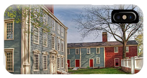 Royall House And Slave Quarters IPhone Case