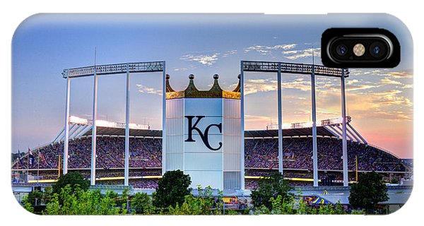 Royals Kauffman Stadium  IPhone Case