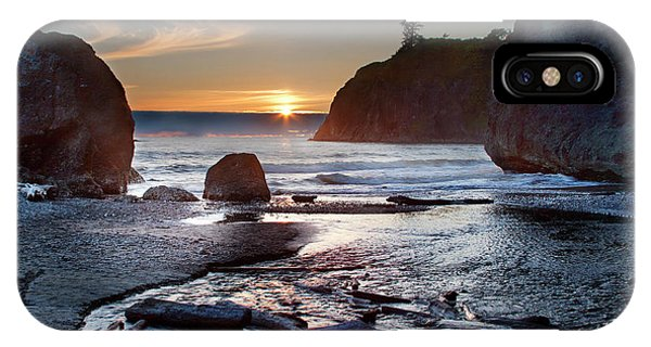 Ruby Beach #1 IPhone Case