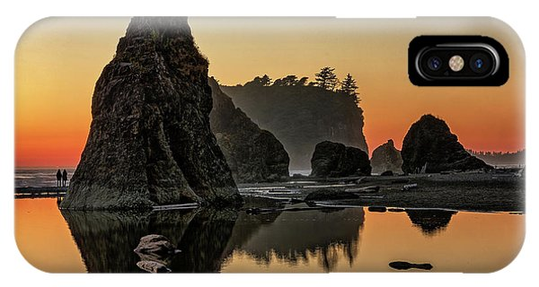 Ruby Beach At Sunset IPhone Case