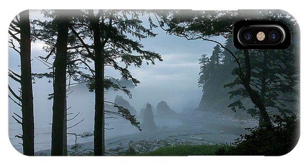 Ruby Beach II Washington State IPhone Case