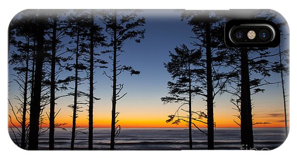 Ruby Beach Trees #4 IPhone Case