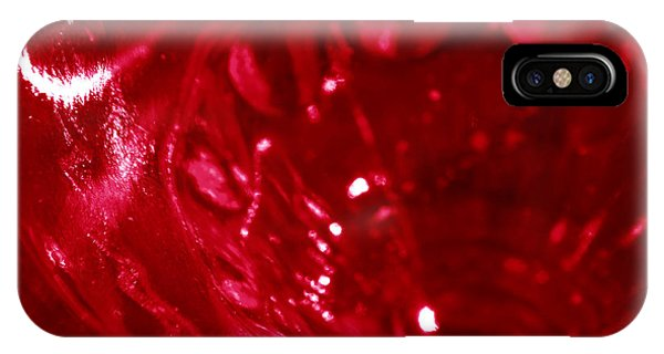 Ruby Glass Beauty IPhone Case