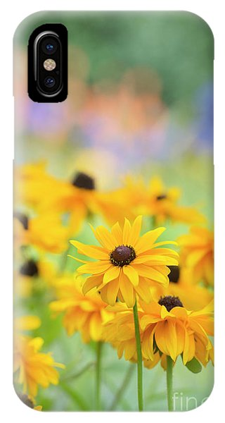 Rudbeckia Indian Summer Flowers IPhone Case