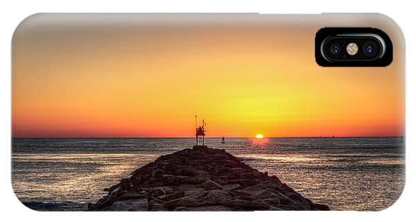 Rudee Inlet Jetty IPhone Case