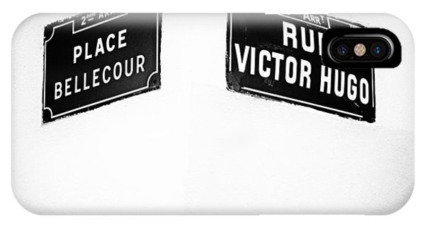 The Corner Of Place Bellecour And Rue Victor Hugo IPhone Case