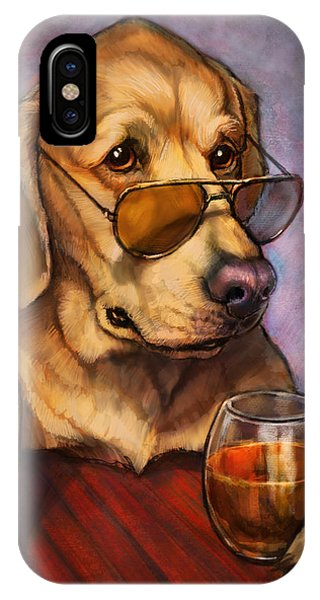 Liquor iPhone Case - Ruff Whiskey by Sean ODaniels