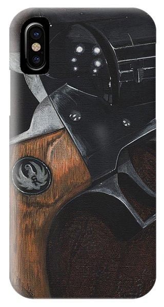 Ruger 44 Magnum Super Blackhawk Revolver IPhone Case