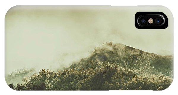 Mountainous iPhone Case - Rugged Atmosphere by Jorgo Photography - Wall Art Gallery