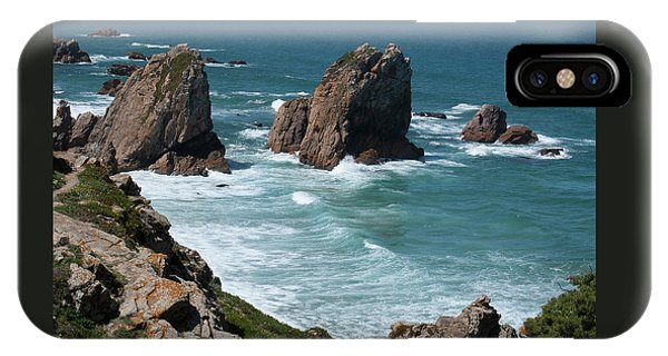 Rugged Coastline - Portugal Phone Case by Connie Sue White