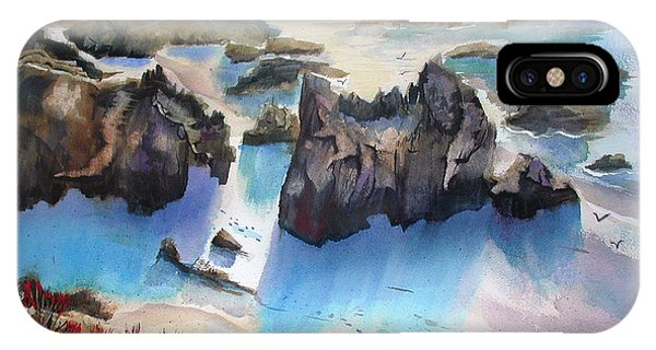 Marin Lovers Coastline IPhone Case