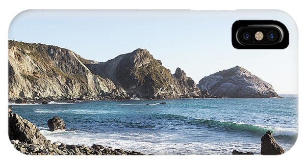 Rugged Rocky Shore On A Sunny Day IPhone Case