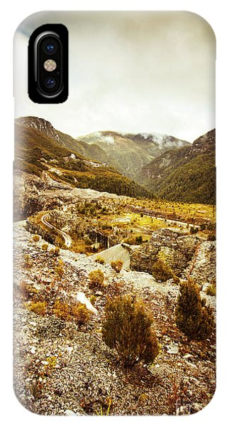 Mountainous iPhone Case - Rugged Valley Wilderness by Jorgo Photography - Wall Art Gallery