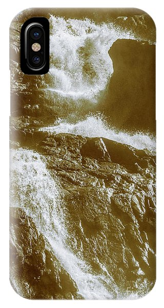 Rocky Mountain iPhone Case - Rugged Water Rapids by Jorgo Photography - Wall Art Gallery