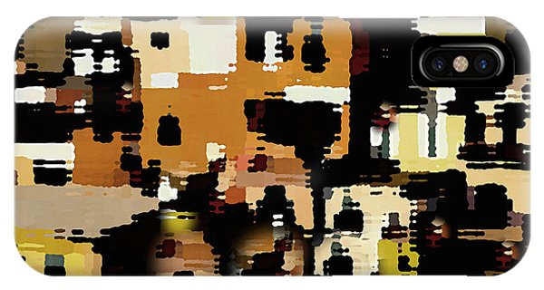 Ruins, An Abstract IPhone Case