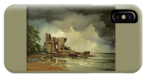 Ruin iPhone Case - Ruins Near Kenosha by Paul Krapf