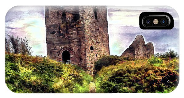 Ruins Of The Old Tin Mine IPhone Case