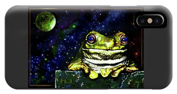 Ruler Of The Cosmos  IPhone Case