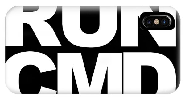 Run Cmd IPhone Case