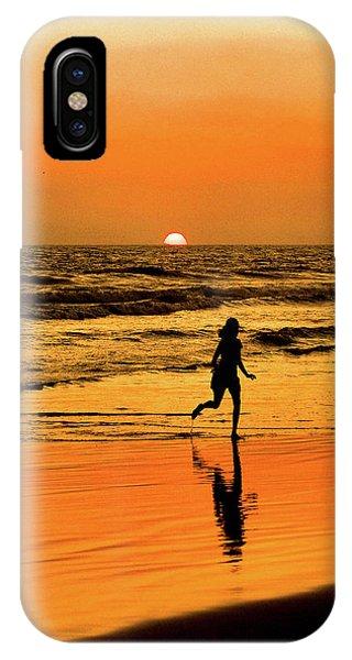 Run To The Sun IPhone Case