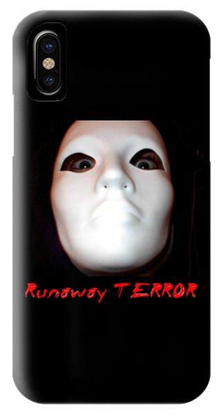 Runaway Terror 3 IPhone Case