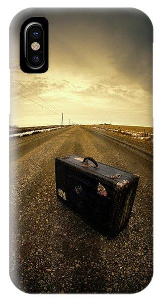 Running Away IPhone Case