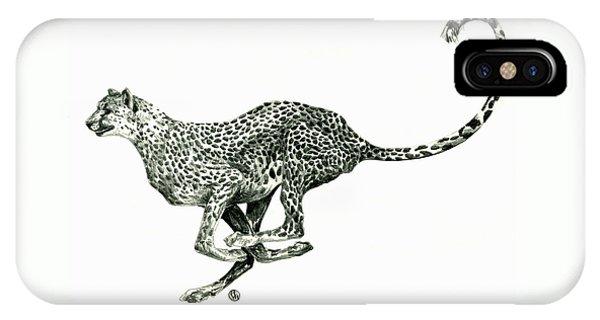 Running Cheetah IPhone Case