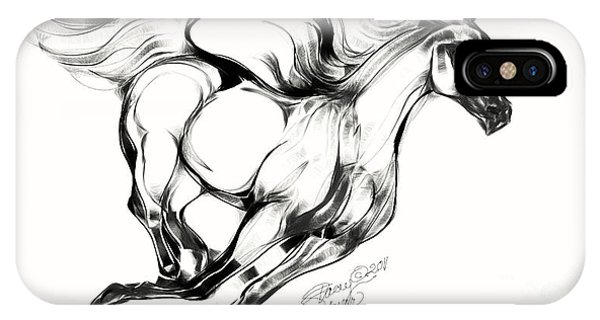 Night Running Horse IPhone Case