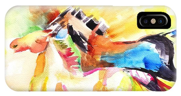Running Horses Color IPhone Case