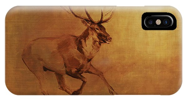 Running Stag IPhone Case