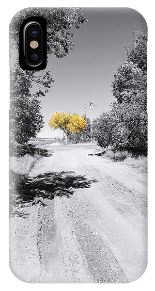 Rural Autumn Splash IPhone Case