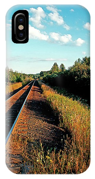 Rural Country Side Train Tracks IPhone Case
