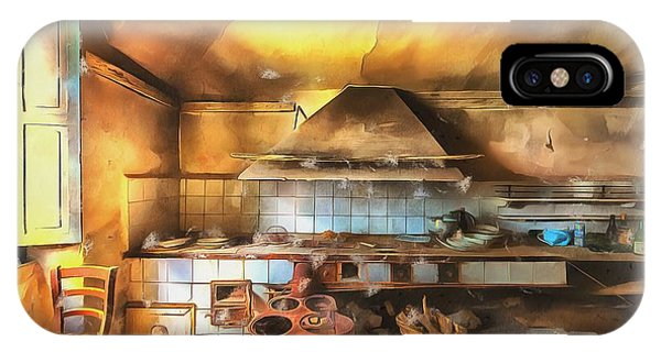 IPhone Case featuring the photograph Rural Culinary Atmosphere Nr 2 - Atmosfera Culinaria Rurale IIi Paint by Enrico Pelos