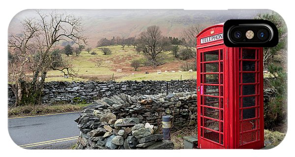 Rural English Phone Box IPhone Case