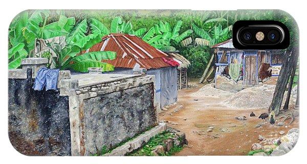 Rural Haiti - A Study In Poignancy IPhone Case