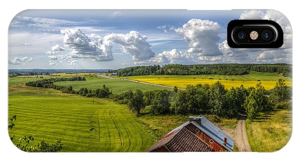 Salo iPhone Case - Rural Landscape by Veikko Suikkanen