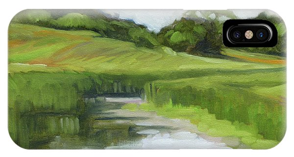iPhone Case - Rural Marsh by Kim Gordon