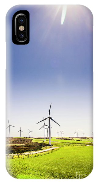 Technology iPhone Case - Rural Power by Jorgo Photography - Wall Art Gallery