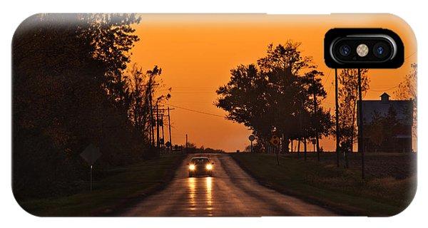 Rural iPhone Case - Rural Road Trip by Steve Gadomski