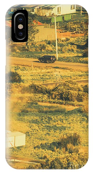 Ranch iPhone Case - Rural Tasmania Landscape At Summer by Jorgo Photography - Wall Art Gallery