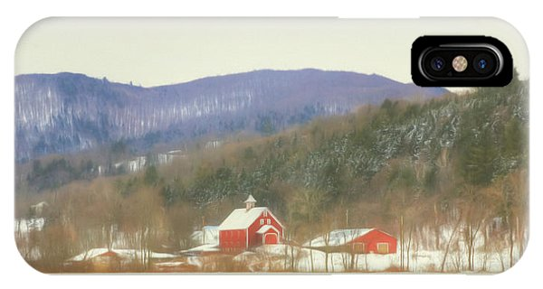 Rural Vermont IPhone Case
