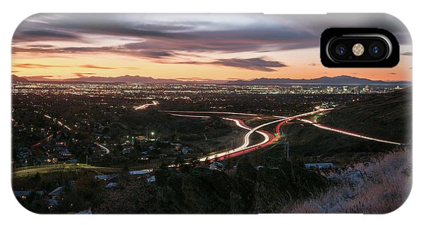 Rush Hour In Salt Lake City IPhone Case