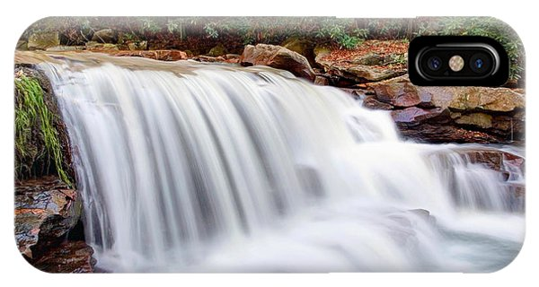 Rushing Waters Of Decker Creek IPhone Case